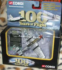 2004 CORGI 100 YRS OF FLIGHT P 51 MUSTANG CHUCK YEAGER