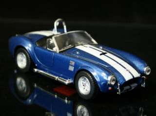 1965 Shelby Cobra 427 SC Diecast 1:34 Scale   Blue