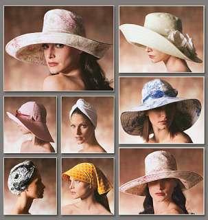 V7600 Patron Couture Chapeaux de Soleil Vogue Pattern