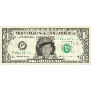 BARNEY FIFE   DON KNOTTS   CHOICE UNCIRCULATED   ONE DOLLAR FEDERAL