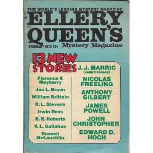 1972, Vol. 59, No. 2: Ellery Queen, J. J. Marric, Jon L. Breen
