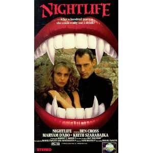 Nightlife [VHS]: Ben Cross, Maryam dAbo, Keith Szarabajka