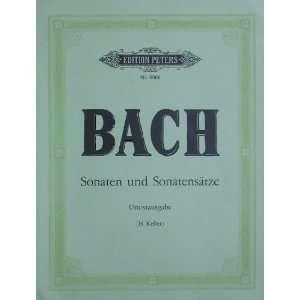 Johann Sebastian Bach   Sonatas and Sonata Movements
