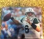 MARK SANCHEZ Signed Auto NY JETS Mini Helmet USC COA