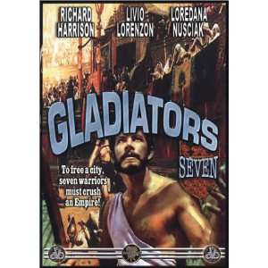 Gladiators Seven Richard Harrison, Loredana Nusciak