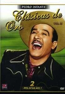 Clasicas De Oro Pedro Infante Vol 2 DVD NEW Escuela De Vagabundos Y