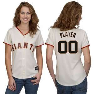 San Francisco Giants  Any Player  Womens MLB Replica Jersey