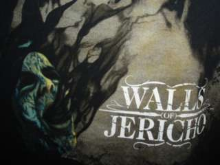 WALLS OF JERICHO SHIRT concert tour METAL Trustkill XL