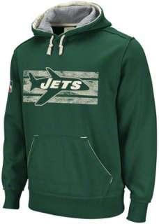 New York Jets Green Vintage Pullover Hooded Sweatshirt