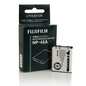 Fujifilm NP 45A Lithium Ion Rechargeable Battery