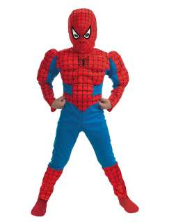 Marvel Comics Spiderman Red Muscle Child Costume