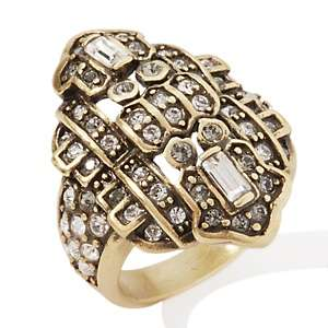 Heidi Daus Byzantine Beauty Crystal Band Ring