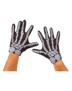 Skeleton Gloves  Gloves and Mitts Accessories & Makeup for Halloween