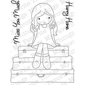 My Favorite Things Jolinne Clear Stamps   Miss You Much
