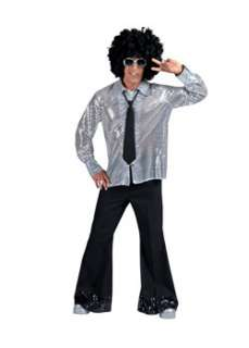 Black Diamond Disco Pants with Sequin Cuff  Cheap Disco Halloween