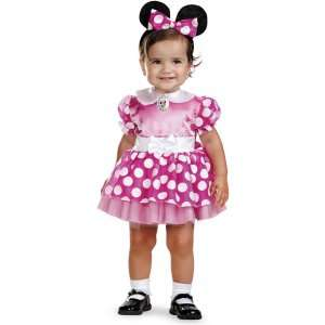 Disney Mickey Mouse Clubhouse   Pink Minnie Mouse Infant Costume
