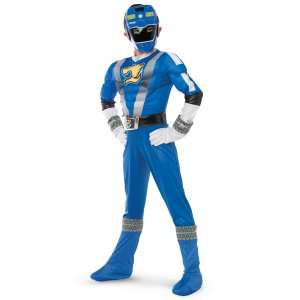 Power Ranger RPM Blue Ranger Classic Muscle Child Costume, 60749