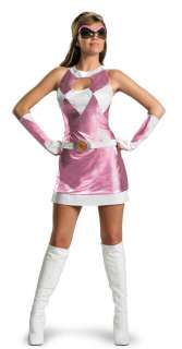 Pink Power Ranger Costume   Adult Costumes