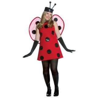 Halloween Costumes Lady Bug Deluxe Adult Plus