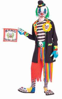 Evil Clown Costume   Mens Costumes