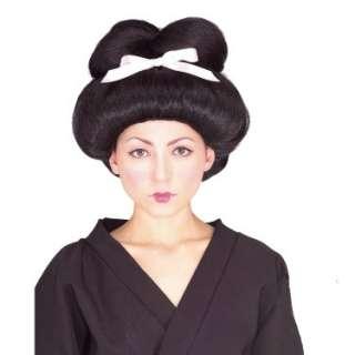Halloween Costumes Geisha Girl Adult Wig