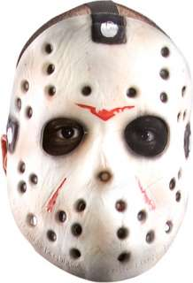 costumes in shopping cart jason mask