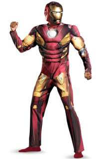 Marvel Avengers Movie Iron Man Mark VII Classic Muscle Adult Costume