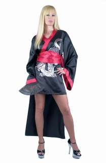Geisha Girl Adult Costume   Includes dress and obi. Fan and shoes are