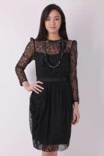 Nigosa Lace Dress By Malene Birger   Black   Buy Dresses Online at my