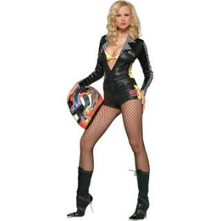 Adult Sexy Checkered Flag Costume   Motorcyclist Costumes   15UA83150