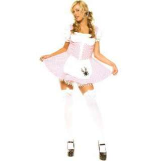 Lil Miss Muffet Plus Adult Costume   This sassy costume includes a