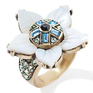 Heidi Daus La Fleur Extraordinaire Crystal Accented Ring