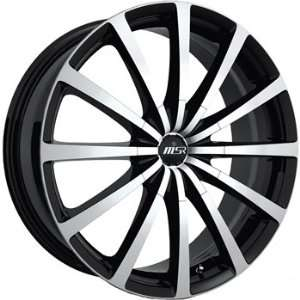 MSR 42 20x7.5 Black Wheel / Rim 5x100 & 5x4.5 with a 40mm Offset and a