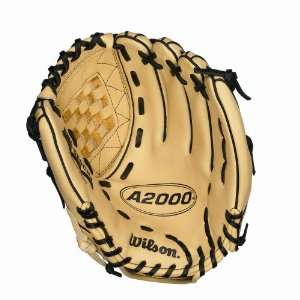Wilson A2000 Fastpitch Model ASO Web Glove, Black, 12 1/2