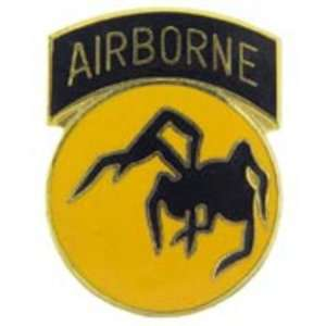 U.S. Army 135th Airborne Division Pin 1 Arts, Crafts
