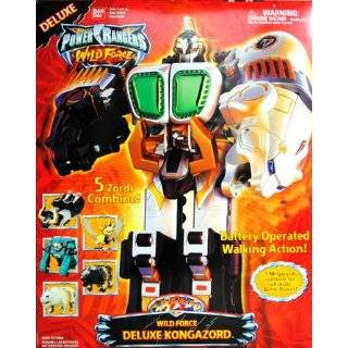 Deluxe Wild Force Megazord Power Rangers Sabans  Toys & Games