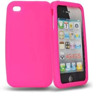 Mobile Palace  Pink silicone case cover for apple iphone