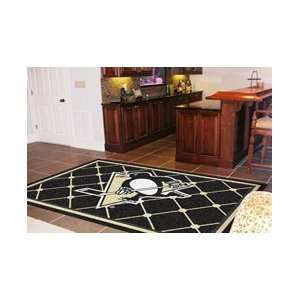 NHL Pittsburgh Penguins 5 X 8 Area Rug