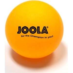 Joola Table Tennis Ball   55mm Orange Elephant Ball