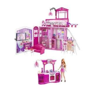 House + Barbie My House Dream Kitchen & Barbie Doll