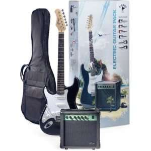 Black Lefty Electric Guitar & Amplifier Package w Gig Bag