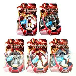 Iron Man Movie Series 1 Action Figures Case of 10 Toys & Games