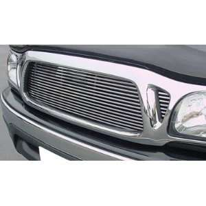 01 04 Toyota Tacoma Polished Aluminum Billet Grille Automotive