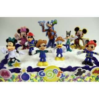 Disney Mickey Mouse Clubhouse 14 Piece Birthday Cake Topper Set