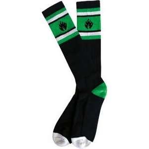 Black Label Stripe Socks [Black]   Single Pair Sports
