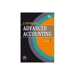 : Advanced Accounting: Volume I (9788120339194): Chandra Bose: Books