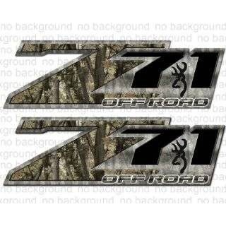 4x4 Deer Skull Off Road Camo Decal F 150 Silverado Ram