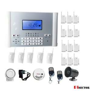PiSector Cellular GSM Advanced Home Security Alarm System Auto