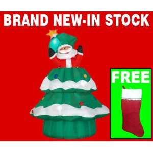 Christmas Tree Inflatable Outdoor Xmas Decoration With Free Stocking