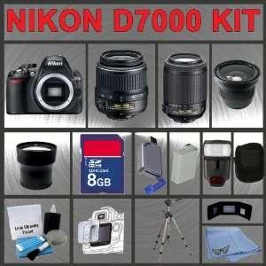 Digital Flash + Extended Life Battery + Tripod + LCD Lens Cleaner Kit